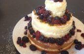 Barato y fácil torta de boda
