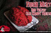 Carne fresca (terciopelo rojo Rice Krispy delicias)