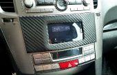 Instale el teléfono en el salpicadero coche Subaru Legacy