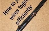 Se unen los cables eficiente