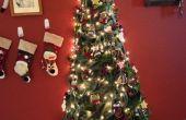 Mi árbol de Navidad de arpillera