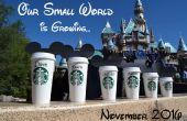 Disney / Starbucks anuncio de embarazo