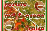 Salsas verde y roja