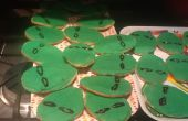 Alien cabeza Cookies