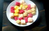 Con sabor a terrones de azúcar de rainbow