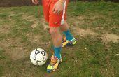 Cómo patear un balón de fútbol