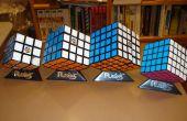 Cómo resolver un profesor de Rubik de 5 x 5