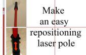 Hacer un fácil reposicionamiento polo de láser
