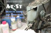 Motorizados, sonido reaccionando Star Wars en el St modelo de Bandai, con Arduino.