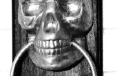 Aldaba de la puerta de Halloween!