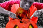 La calabaza zombi - usar Pixlr