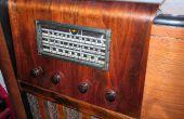 Restauración - nueva vida fuera de una conversión de radio roto 1930