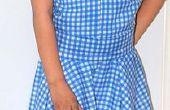 Mago de Oz (mi versión traje). Vestido de Dorothy Gale.
