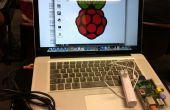 La conexión a una frambuesa PI con VNC usando MAC OS