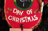 Navidad Adviento placa