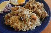 Dum Biryani de pollo aromática