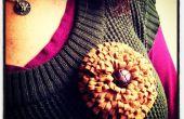 Descabellado No coser flor Tutorial