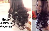 DIY, cómo hacer el pelo rizos en pocos minutos rápido y fácil
