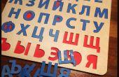 Rompecabezas del alfabeto ruso
