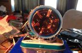 Micro Colisionador de hadrones: Miniatura modelo partícula acelerador hecha de basura