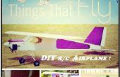 Avión de Control remoto DIY (23 cc Gas powered)