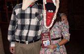 Adam y Barbara Maitland trajes de BeetleJuice!