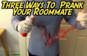 3 maneras de broma a su compañero de cuarto consecutivamente