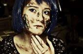 Maquillaje de Halloween - cyber