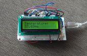 Temperatura sensor(LM35) con LCD(JHD162A)