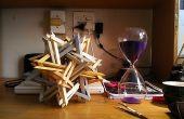 K2 - escultura de origami modular complejos - sin cola