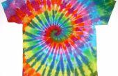 Cómo hacer camisetas Tye-Dye