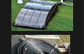 Calentador Solar o ilusión óptica para el entretenimiento la piscina