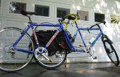 Transportar una bicicleta extra en el Xtracycle - fácil portapalets de Monte
