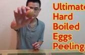 Finales huevos duros peeling
