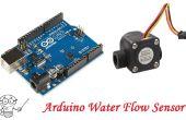 Sensor de flujo de agua de Arduino