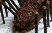 Mini pastel de araña