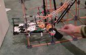 Máquina de la bola de k'nex Coolcreation (construido por un niño de 7 años de edad)