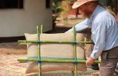 Aislamiento de paredes de bambú