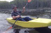¿Kayak de Seafoam, cualquier persona puede construir de Unsinkable espuma Kayak, 16 libras y ocho pies de diversión