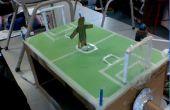 Cómo hacer un movimiento de jugador de fútbol