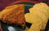 Maíz y cebolla Frittata - rápido de preparar, cocina mientras usted está ausente