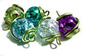 Agrietado el cristal mármol encanto