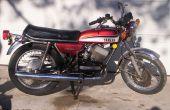 Cómo revivir una vieja motocicleta: ahorrar dinero en combustible de Gas! Viaje barato!