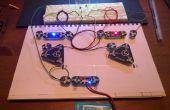 Multivibrador astable (intermitencia LED) con circuito escriba