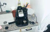 Hacer un portafiltro presurizado para una máquina de espresso baratos