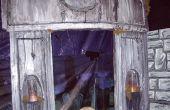 Mausoleo de Halloween de espuma de poliestireno