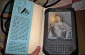 Libro viejo para cubierta del Kindle - viejo libro Kindle cubierta
