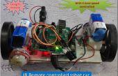 Coche de juguete de control utilizando tecnología Ir