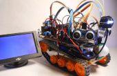 Marte - Rover múltiples funciones autónoma (FPV)