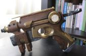 Pistola de dardos Nerf Steampunked